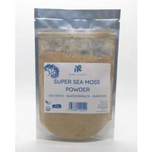 sea moss burdock root bladderwrack powder organic